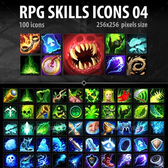 RPG Skills Icons 04