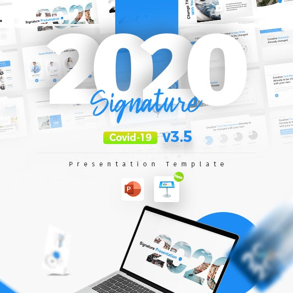 2020 Signature Multipurpose Premium PowerPoint Presentation Template