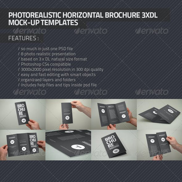 Photorealistic Brochure 3xDL