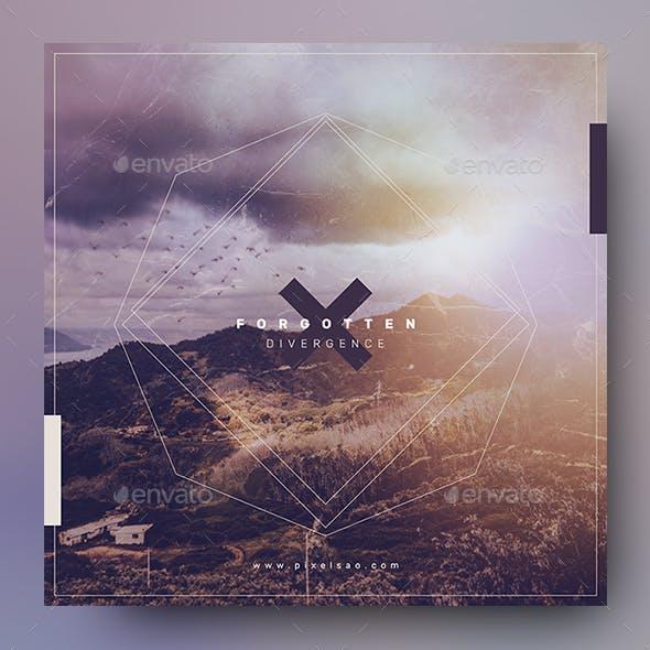 Forgotten – Music Album Cover Artwork Template