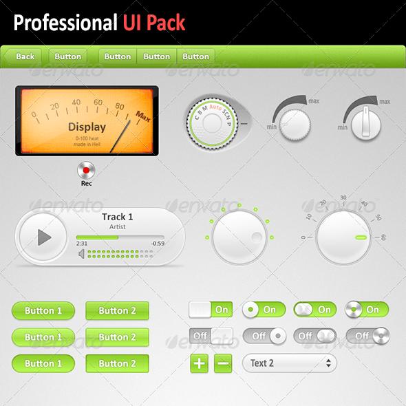 Professional UI Pack