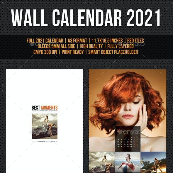 Wall Calendar 2021 V23