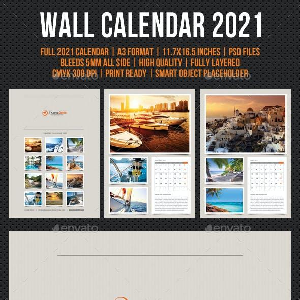 Wall Calendar 2021 V20