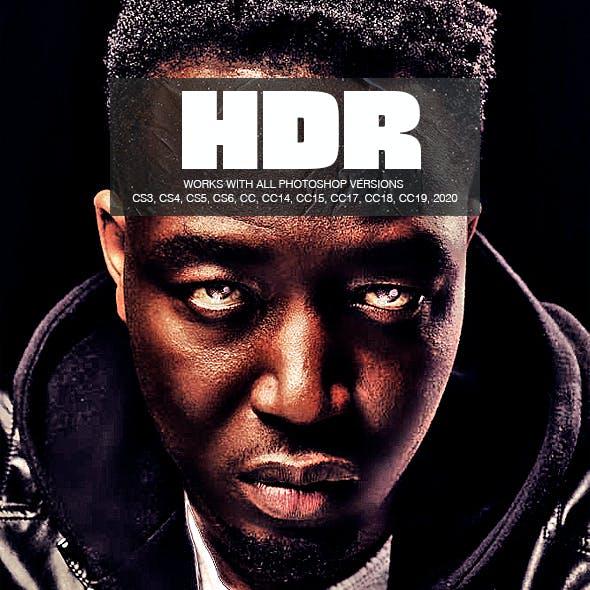 HDR Photoshop Action - Boost Details - High Dynamic Range