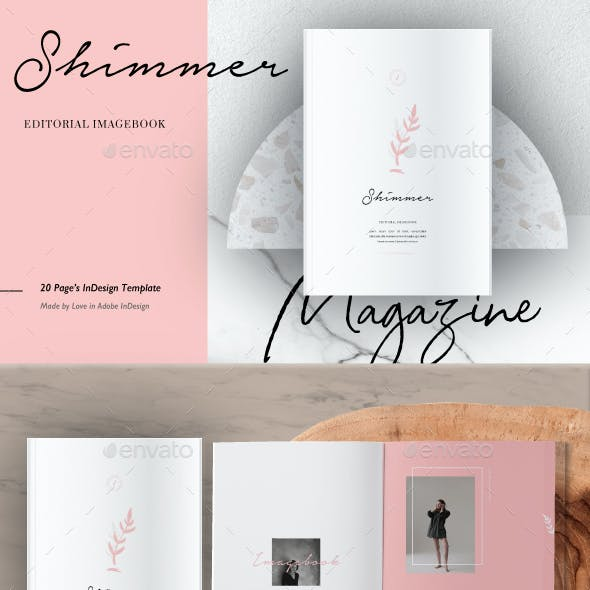 Shimmer Editorial Imagebook