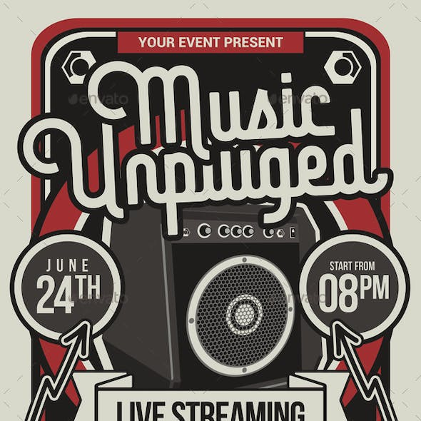 Streaming Music Concert Unplugged
