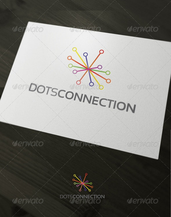Dots Connection - Vector Abstract