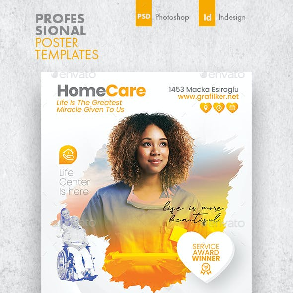 Home Care Poster Templates