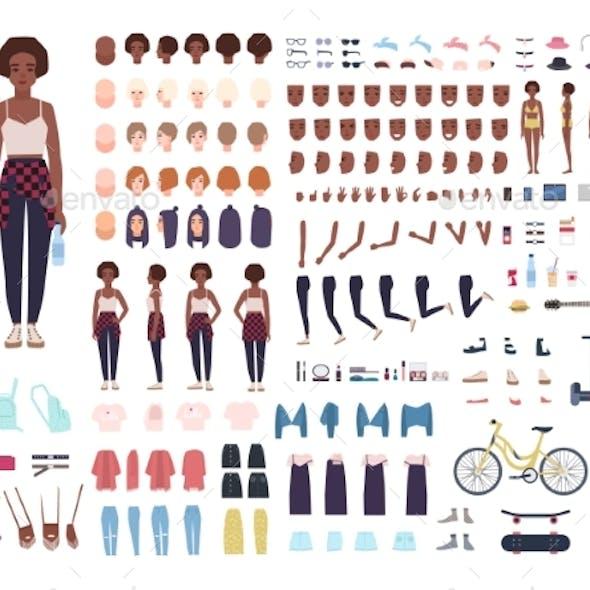 Teenage Girl Character Constructor