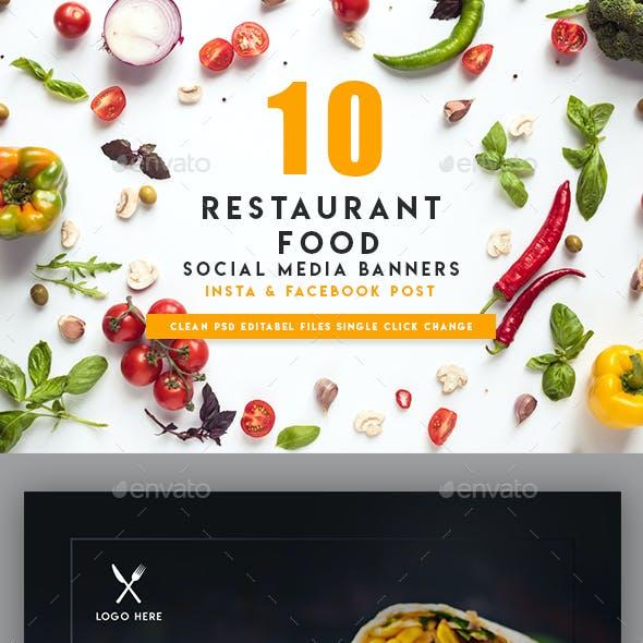 10 Food Instagram Banners   Social Media
