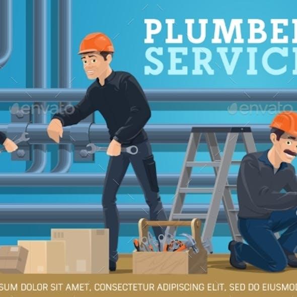 Heating Pipes Repair Plumber Service