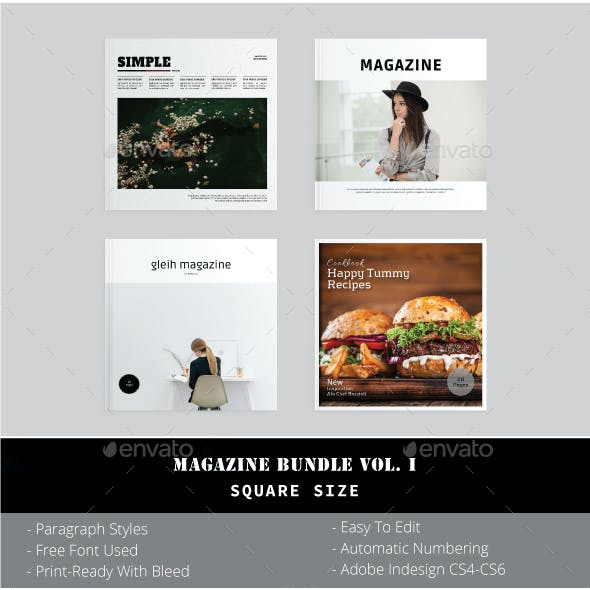 Square Magazine Bundle Vol. I