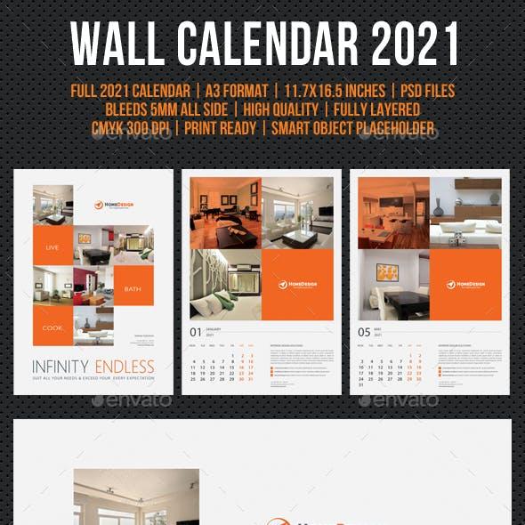 Wall Calendar 2021 V16