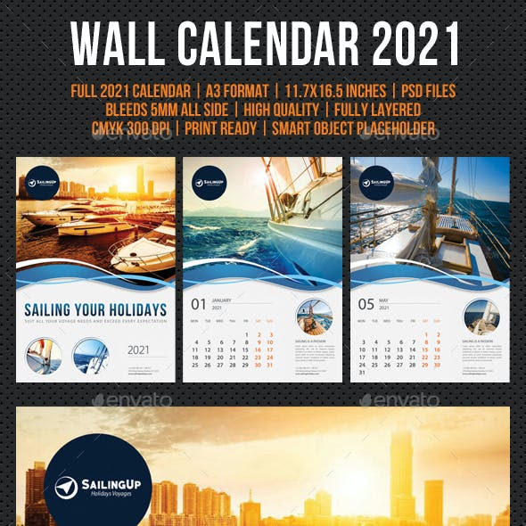 Wall Calendar 2021 V15