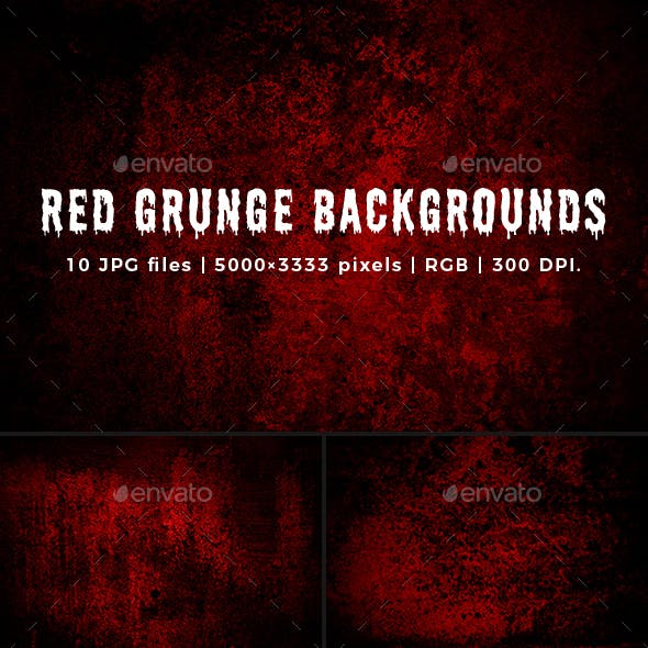Red Grunge Backgrounds