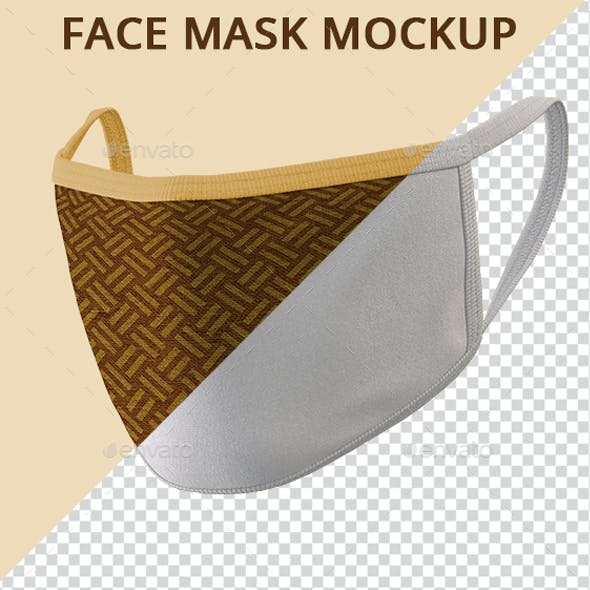 Face Mask Mock-up V1
