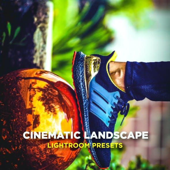 Cinematic Landscape Travel Lightroom Presets