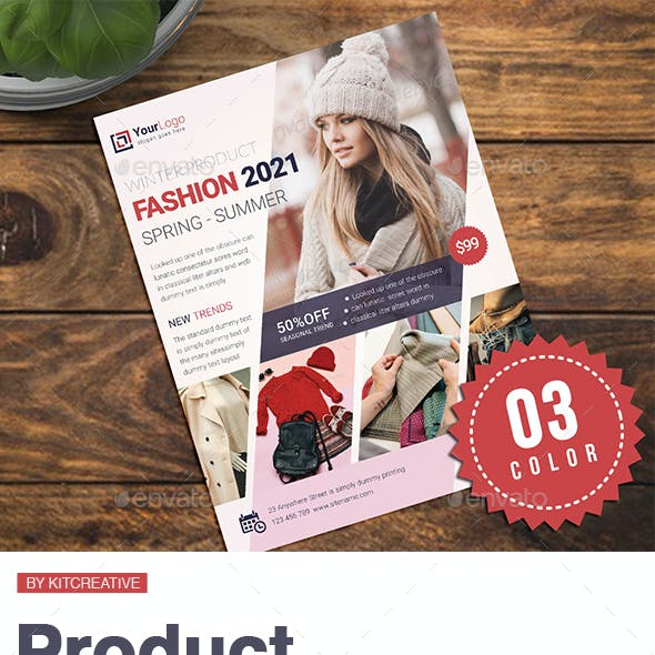 Product Promotion Flyer / Ads