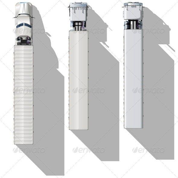 Topview Semitrucks Set