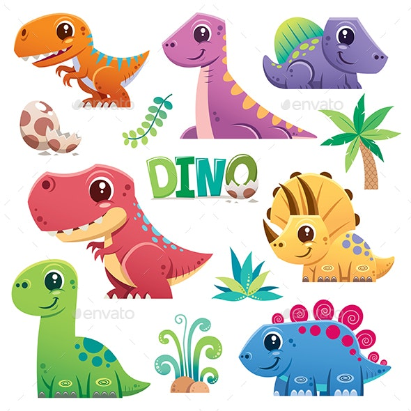 Dinosaur - Animals Characters