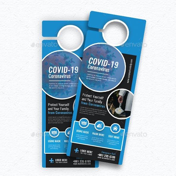 Covid-19 Door Hanger V68