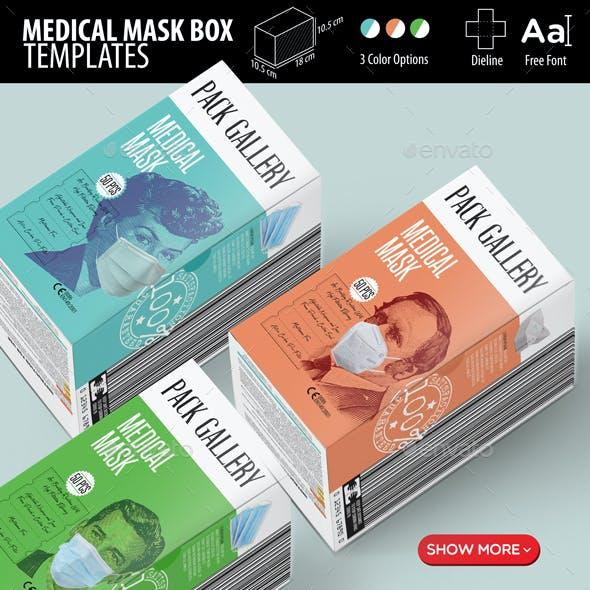Face Mask Box Templates