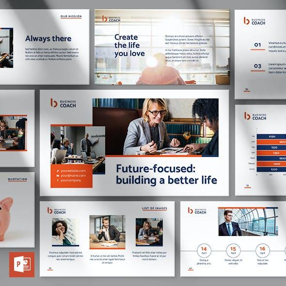 Business Coach PowerPoint Presentation Template