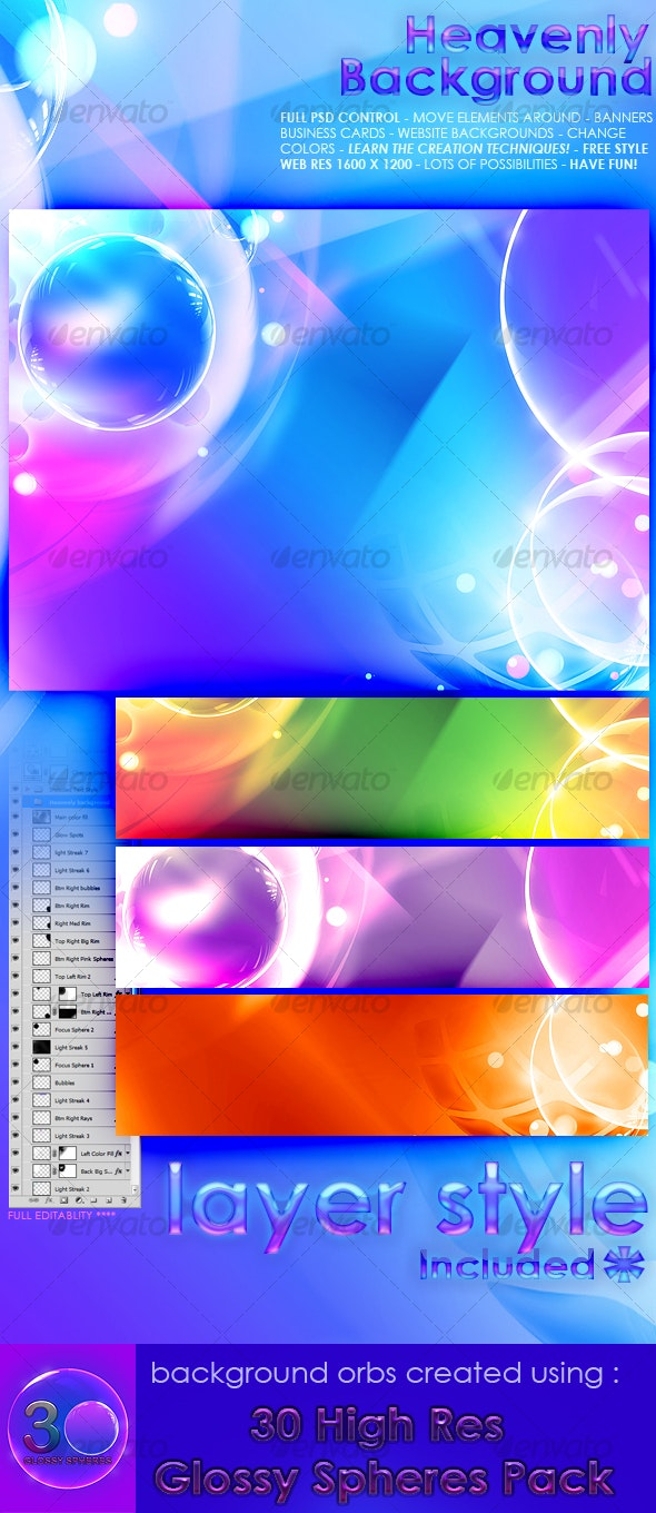 Heavenly Background - Backgrounds Graphics