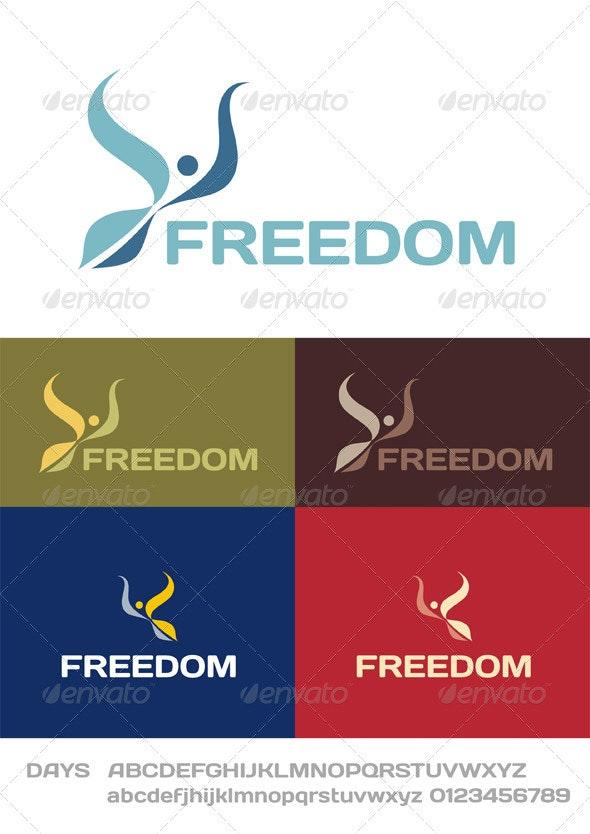 Freedom Logo - Animals Logo Templates