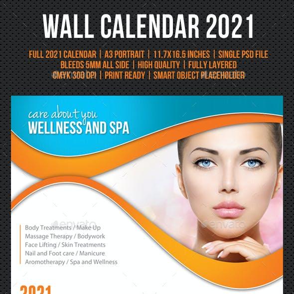Wall Calendar 2021 V10