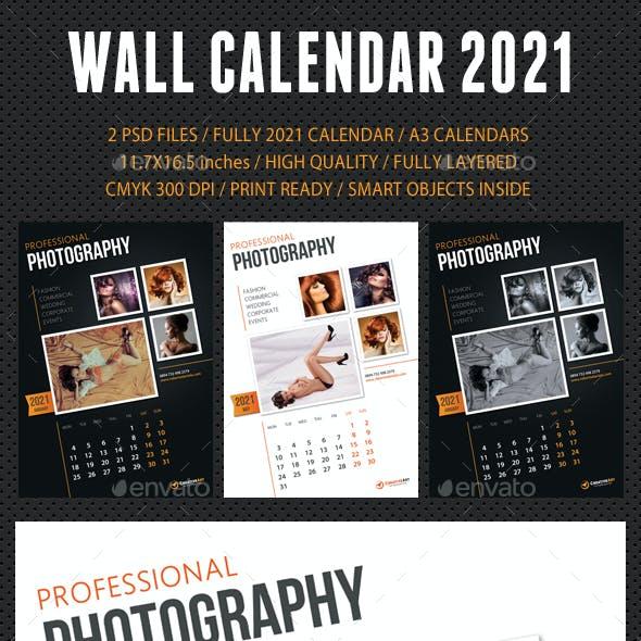 Wall Calendar 2021 V09