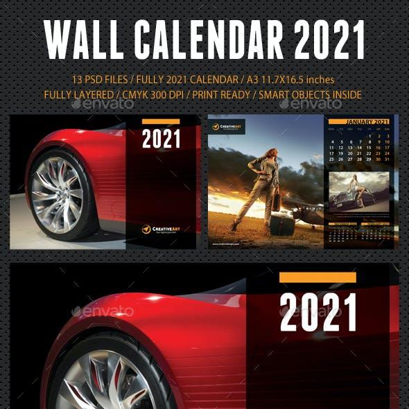 Wall Calendar 2021 V08