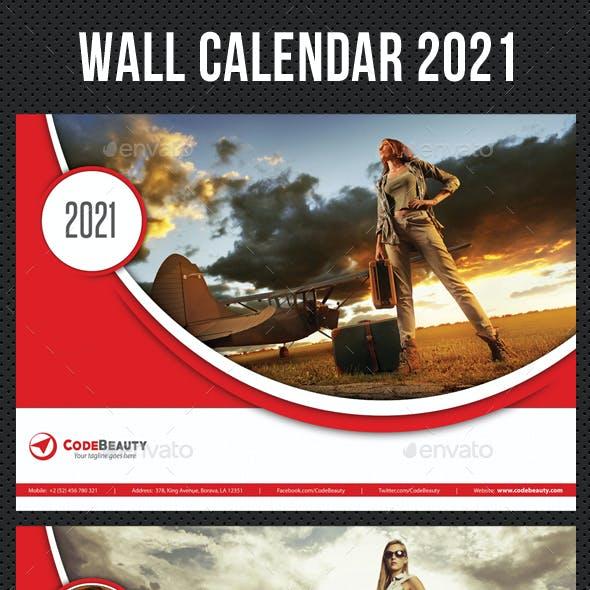 Wall Calendar 2021 V06