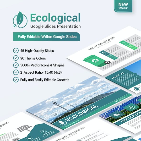 Ecological Google Slides Presentation Template