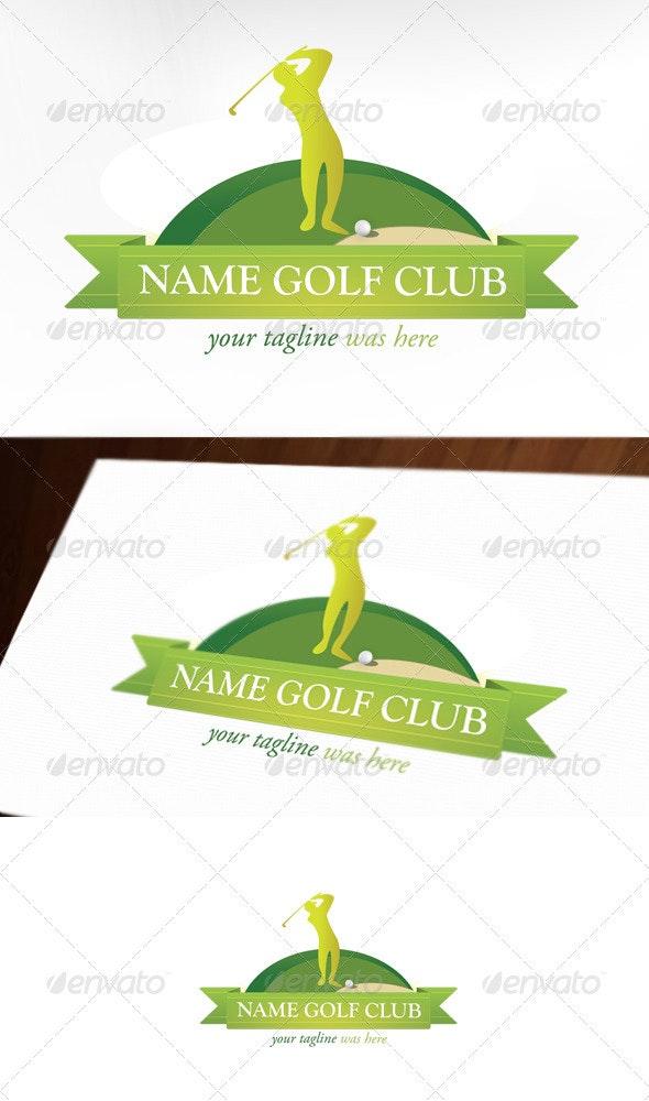 Golf Club Logo - Nature Logo Templates