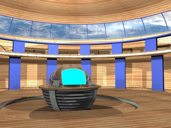 3D-TV_Studio_F_01 - Business Backgrounds