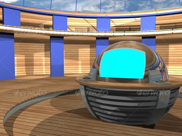3D-TV_Studio_F_02 - Business Backgrounds