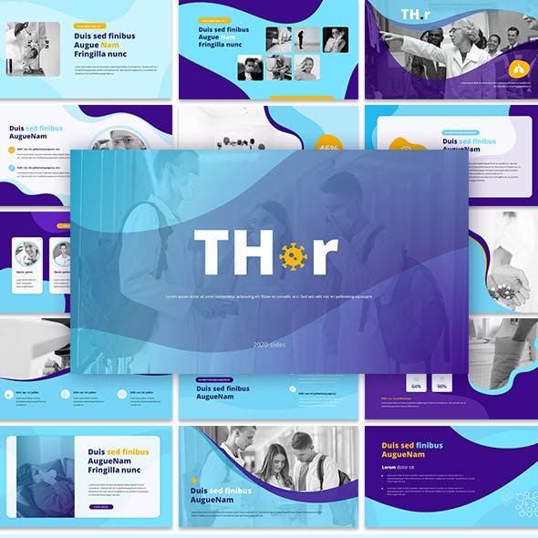 Thr-Covid Medical Keynote Presentation Template