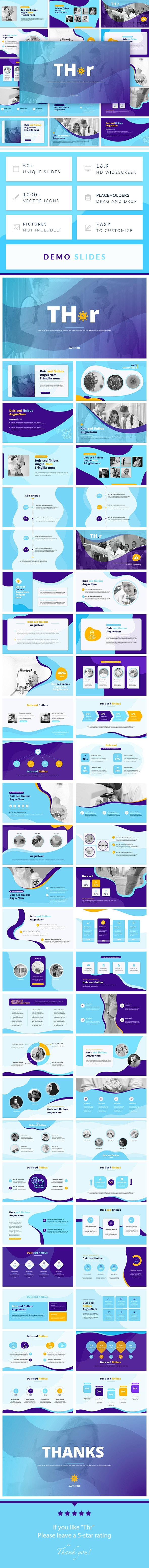 Thr-Covid Medical PowerPoint Presentation Template - Miscellaneous PowerPoint Templates