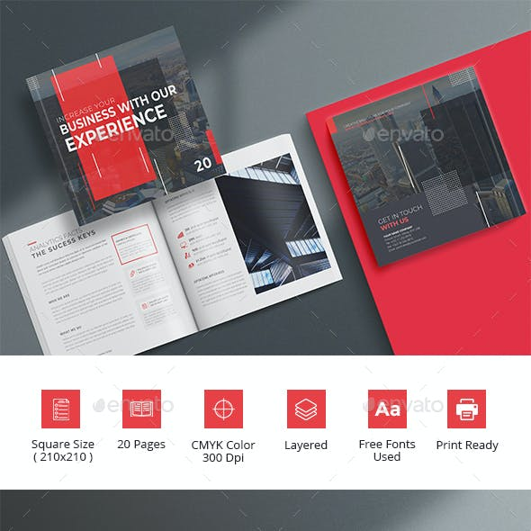 Premium Brochure Template Design