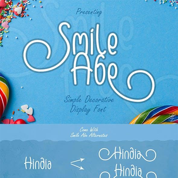 Smile Abe Font