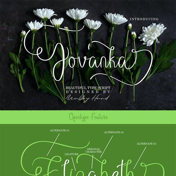Jovanka Script Font