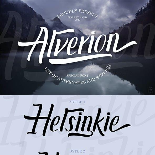Alverion Font