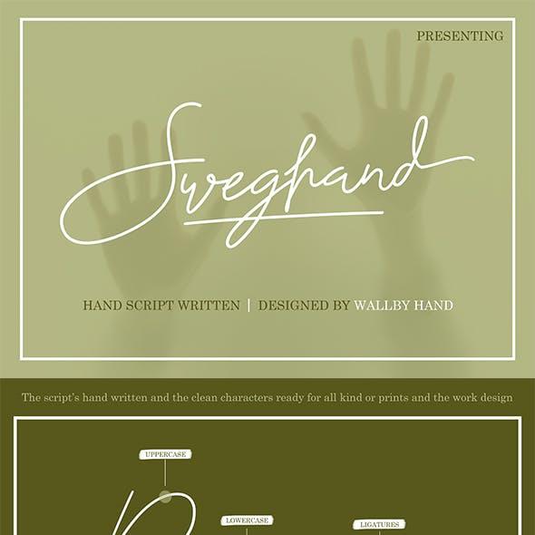 Sweghand-Script Handwritten