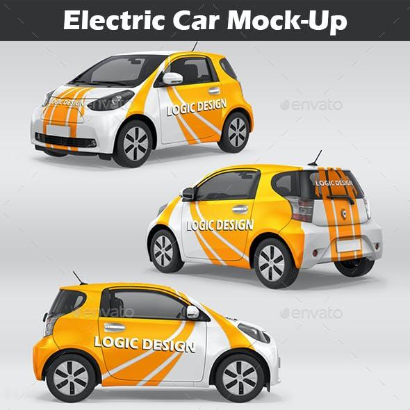 Electric Car Mock-Up