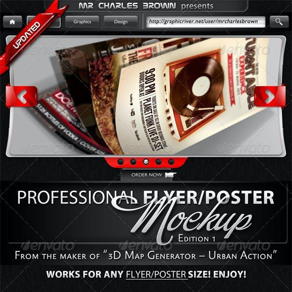 Flyer & Poster Mockup Bundle