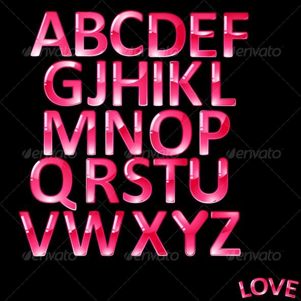 ABC.  - Decorative Symbols Decorative