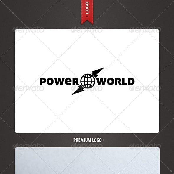 Power World Logo Template
