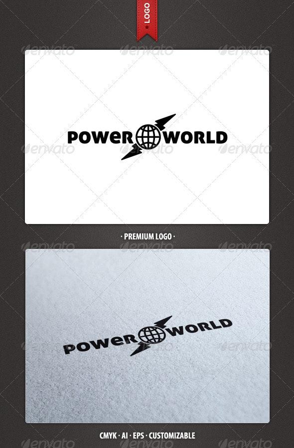 Power World Logo Template - Abstract Logo Templates
