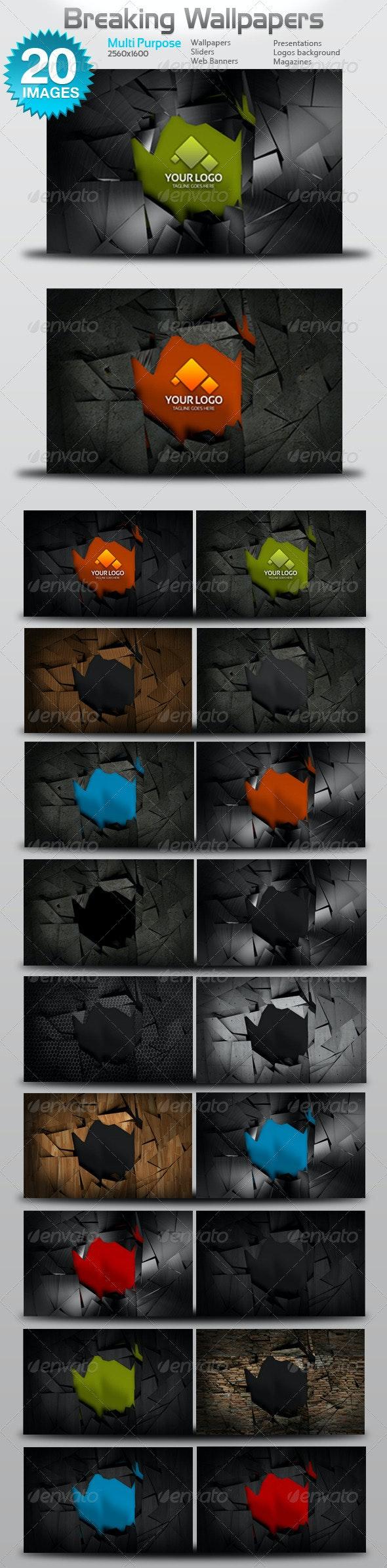 Breaking Wallpapers - Backgrounds Graphics